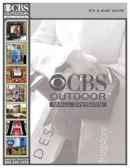 Mall Presentation Background - CBS Outdoor