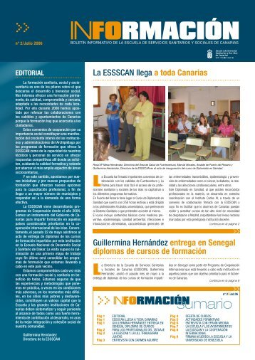 nº 2/Julio 2006 - Gobierno de Canarias