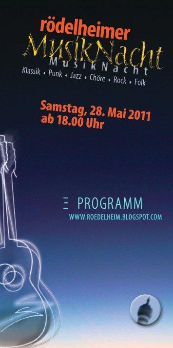 Rödelheimer Musiknacht - Frankfurt - Soziale Stadt - Neue ...