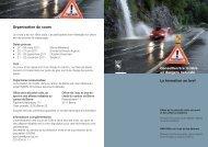 Brochure Formation conseiller/ère en dangers ... - Naturgefahren