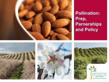 Pollination: Prep, Partnership and Policy - Almond Board of California