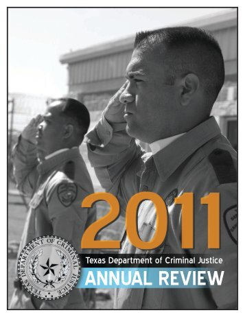 Annual Review 2011 - Texas Department of Criminal Justice