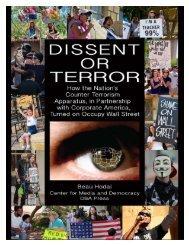 Dissent or Terror report - PR Watch
