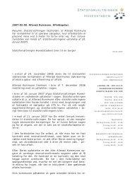 SJ__1_ - 09-02-07 Ny udtalelse 2 - Statsforvaltningen
