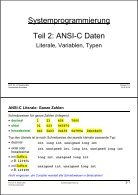 Systemprogrammierung Teil 1: Einführung - Seite 4