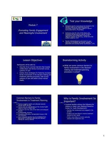 Module 7 - School Mental Health