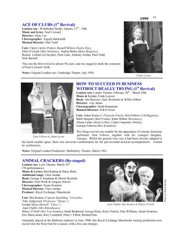 London Musicals 1995-1999.pub - Over The Footlights