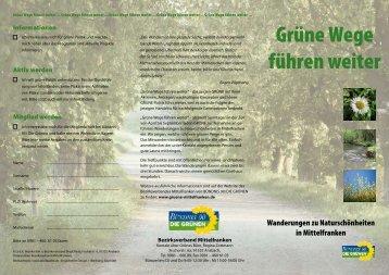 Grüne Wege führen weiter - BÜNDNIS 90/DIE GRÜNEN ...