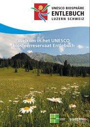 UNESCO biosfeerreservaat Entlebuch, Luzern, Zwitserland