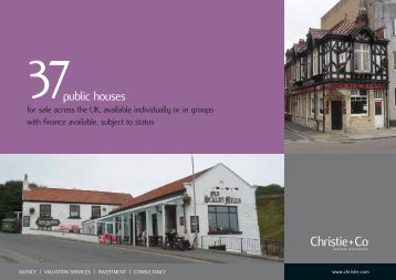 public houses - Christie + Co Corporate