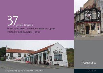 public houses - Christie + Co Corporate