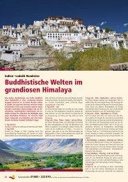 Buddhistische Welten im grandiosen Himalaya