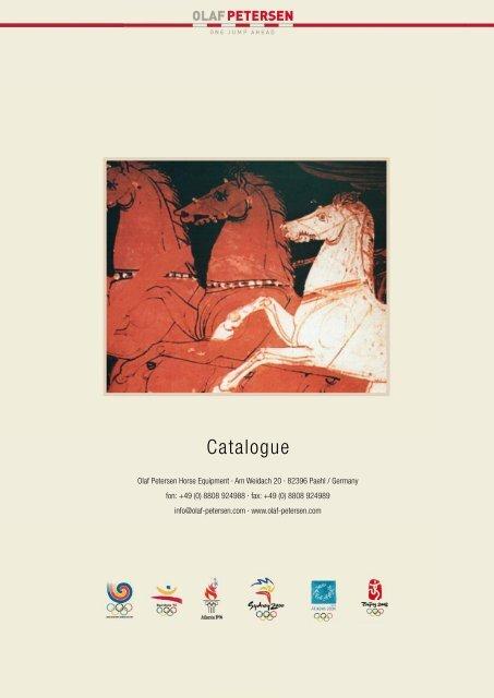 Olaf Petersen Horse Equipment Catalogue 2014