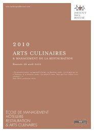 arts culinaires - Consulat général de France à Hong Kong et Macao