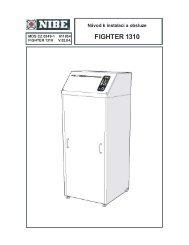 FIGHTER 1310 - nibe-technik.cz