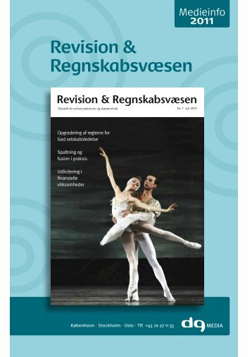 Revision & Regnskabsvæsen - DG Media