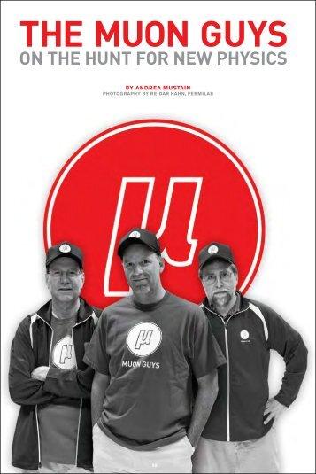 THE MUON GUYS - Symmetry magazine
