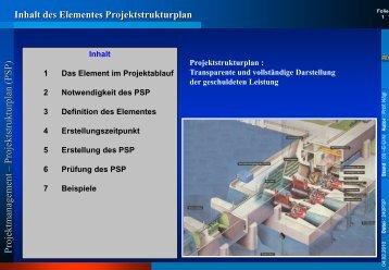 l Projektstrukturplan - Rz.fh-augsburg.de