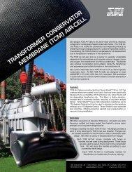 transformer conservator m embrane (tcm ) air-cell - SEI Industries Ltd.