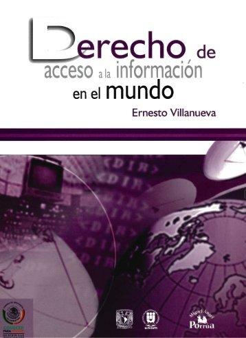 DERECHO DE acceso a la información en el ... - Acceso al sistema