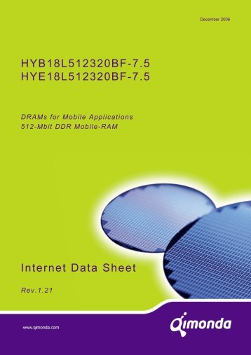 Internet Data Sheet HY[B/E]18L512320BF-7.5 Rev. 1.21 - UBiio