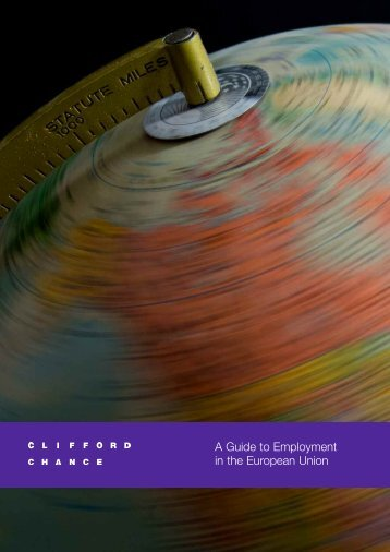 A Guide to Employment in - Sorainen