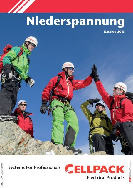 Katalog Niederspannung 2013 - Cellpack Electrical Products