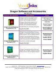 + OSAPAC DNS Software and Accessories Price List - VocaLinks