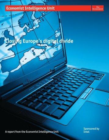 Closing Europe's digital divide - Elektronika.lt