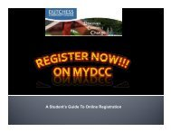 A Student's Guide To Online Registration - Dutchess Community ...