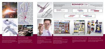 Verkaufsbroschüre A4 - Sonneck