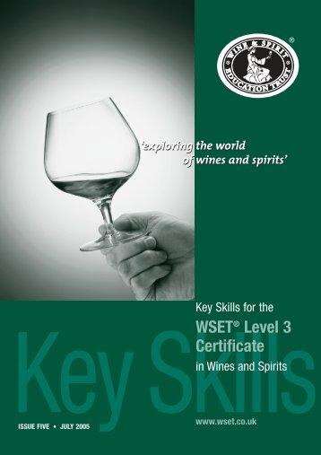 Level 3 Key Skills