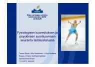 Y - Kilpa- ja huippu-urheilun tutkimuskeskus