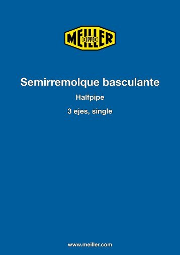 Semirremolque basculante - EXTRANET FACILISWEB