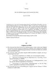 Satzung über die Abfallentsorgung in der Gemeinde Havixbeck