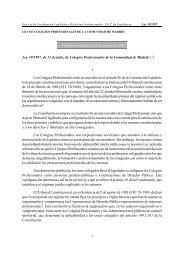 Ley 19/1997, de 11 julio; BOCM nº 167, de 16 de julio Ley 19/1997