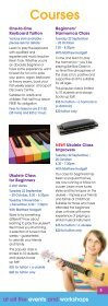 What's On Events, classes & workshops - Gosport Life - Page 5