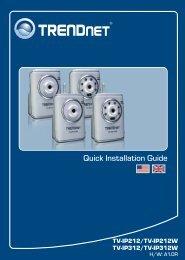 Quick Installation Guide - TRENDnet