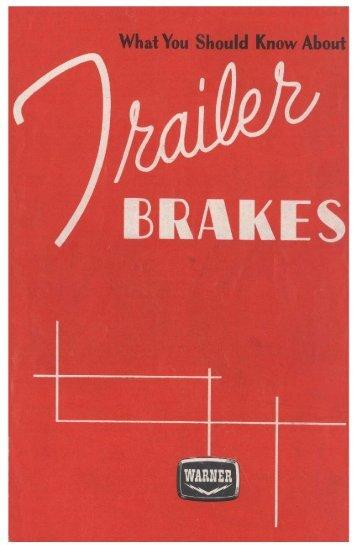 Trailer Brakes - Airstream