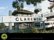Claremont North East Precinct Project - Local Government ...