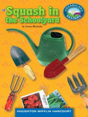 Lesson 15:Squash in the Schoolyard