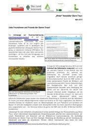 März-Newsletter - Wasser, Klimawandel & Hochwasser