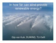 In how far can wind provide renewable energy? - Eindhoven ...