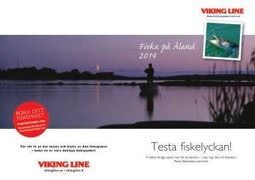 Fiskepaket - Viking Line