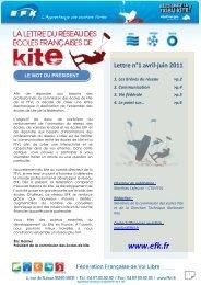 Newsletter EFK n° 1 - FFVL