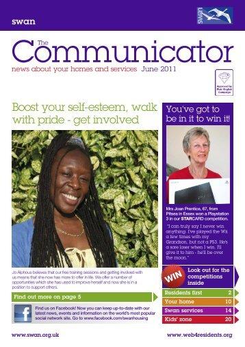 The Communicator June 2011 - Swan Housing Association