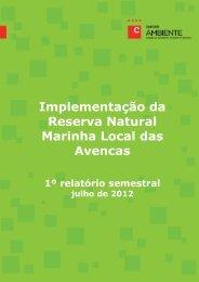 1.º relatório semestral/julho de 2012 - ZIBA - Câmara Municipal de ...