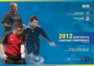 2012 coach conference - Scottish Football Association