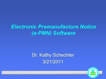 Demonstration of the e-PMN software - SOCMA
