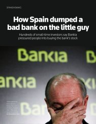 How Spain dumped a bad bank on the little guy - Thomson Reuters